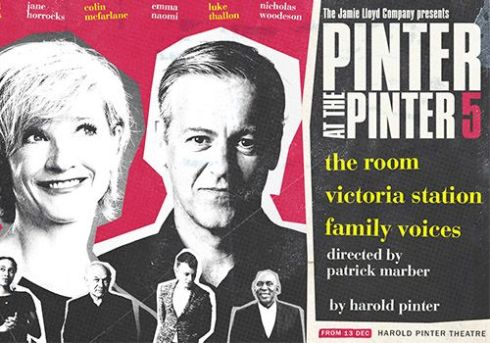 Pinter 5 - Jamie Lloyd Theatre Company